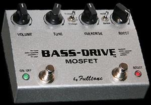 Fulltone Bass-Drive Mosfet Guitar Pedal