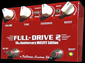 Fulltone FullDrive 2 10th Anniversary Mosfet Guitar Pedal
