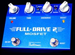 Fulltone FullDrive 2 Mosfet Guitar Pedal