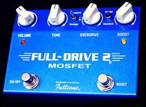 fulltone fulldrive 2 mosfet guitar pedal fulltone pedals. Black Bedroom Furniture Sets. Home Design Ideas