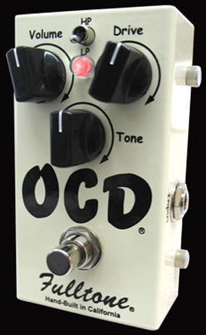 Fulltone OCD Obsessive Compulsive Drive Guitar Pedal