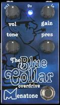Menatone Blue Collar Overdrive Guitar Pedal