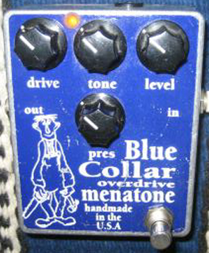 Menatone Blue Collar Overdrive Guitar Pedal