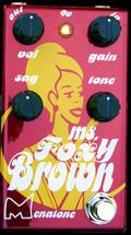 Menatone Ms. Foxy Brown Overdrive Guitar Pedal