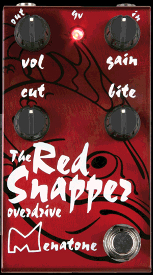 Menatone Red Snapper Overdrive Guitar Pedal