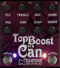 Menatone Top Boost in a Can Guitar Pedal